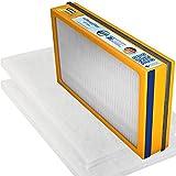 Swirl Ersatzfilter-Set für Helios KWL EC 450/500 (1 x F7 Pollenfilterkassette, 2 x G4 Filtermatten)