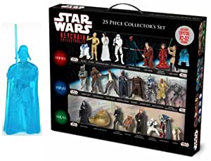 Giochi Preziosi - 9043 - Figurines De Collection porte clés - Star Wars - Coffret de 25 personnages