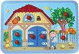 Haba 5598 - Meine erste Spielwelt Bauernhof - Greifpuzzle Wiesenglück