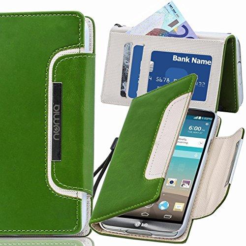 numia LG G Flex 2 Hülle, Handyhülle Handy Schutzhülle [Book-Style Handytasche mit Standfunktion und Kartenfach] Pu Leder Tasche für LG G Flex 2 Case Cover - Lg Cover 2 Flex