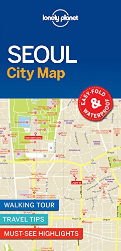 Seoul City Map - 1ed - Anglais par Lonely Planet LONELY PLANET