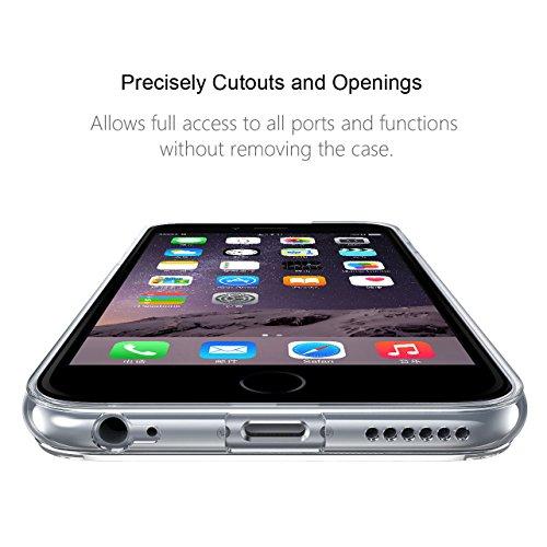 "iPhone 6s Hülle , iPhone 6 Hülle , iPhone 6 6s Silikon Hülle , ivencase Transparent Handyhülle Schutzhülle TPU Clear Case Backcover Bumper Slimcase Etui Tasche für Apple iPhone 6 6s 4.7"" ak50"