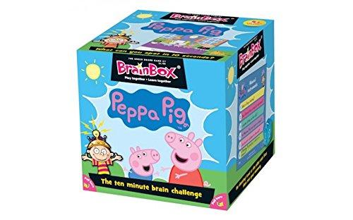 Brainbox 'Peppa Pig' Kartenspiel-Enthält 52 Karten, Timer, 8-seitigen Würfel und Regeln Karte! Viel Spaß und Lernen für zu Hause, Parteien und Reisen! (Fragen in Englisch)
