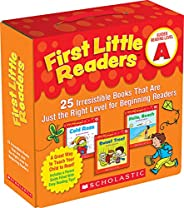 First Little Readers: Guided Reading Level A: 25 Irresistible Books That Are Just the Right Level for Beginnin