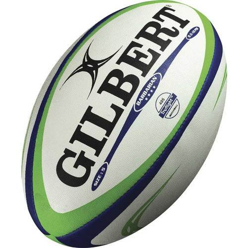 Gilbert Barbarian Balón de Rugby, Azul, 5