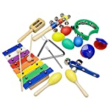 Provide The Best Kinder Musikinstrumente Tamborines Drum Set Xylophone Percussion Spielzeug-Set für Geschenke-Party