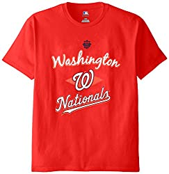 MLB Washington Nationals Men's 58T Tee, Red, Large