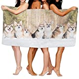No Soy Como Tu Strandtücher Handtücher Corgi Beach Towels Ultra Absorbent Microfiber Bath Towel Picnic Mat for Men Wom