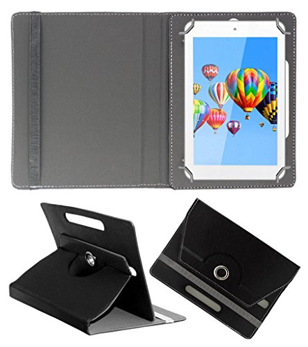 ACM ROTATING 360° LEATHER FLIP CASE FOR DIGIFLIP PRO ET701 TAB TABLET STAND COVER HOLDER BLACK  available at amazon for Rs.149