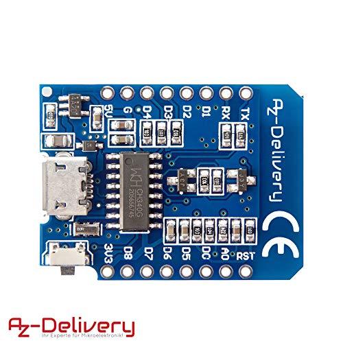 Alta qualit/à 7-24 V Dc Power Shield V1.1.0 per Wemos D1 Mini Ass Blue