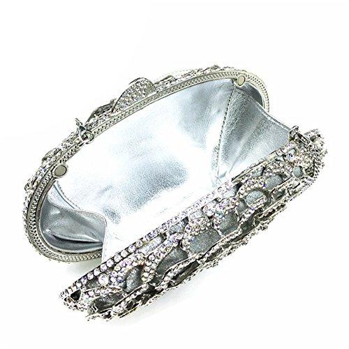 Icegrey, Poschette giorno donna, argento (argento) - ICG-ZUZ-8735-1 argento