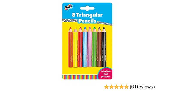FREE /& FAST DELIVERY Galt 12 Colouring Pencils For Young Children