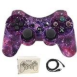 Dskop Wireless Bluetooth Fernbedienung Controller Gamepad Joystick für PS3Playstation 3Double Shock mit USB-Ladekabel