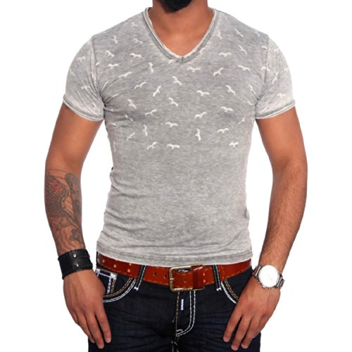 R-Neal Herren T-Shirt 6704 Mint Grün