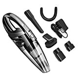SIKER Handheld vacuum cordless, hand-held vacuum cleaner rechargeable lithium battery with fast charging, light dry vacuum cleaner for household pet hair cleaning car cleaning