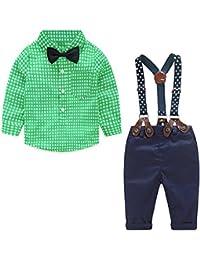 a8b8d60a7a32b Yilaku Bébé garçon Ensembles Pantalons et Haut garçon Vêtements