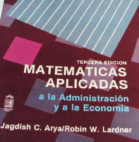 Matematicas Aplicadas Admon por ARYA