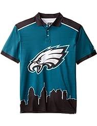 "Philadelphia Eagles NFL ""Thematic"" Skyline Men's Polo Shirt"