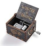 Cajas Musicales Game of Thrones Music Box Winter is Coming Caja de Música de Madera para Los Regalos