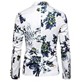 NPHOME Tops Hommes, T-Shirt à Manches Longues DéContracté, Style Nouveau, Impression 3D, Col en O