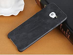 Sunny Fashion Ultra SLiM Vintage Leather (Soft) Snap on Skin Back Cover Case Leather Back Case Cover For Xiaomi Redmi Note 3 - Black ( Different Images Just For reff Purpose Only )