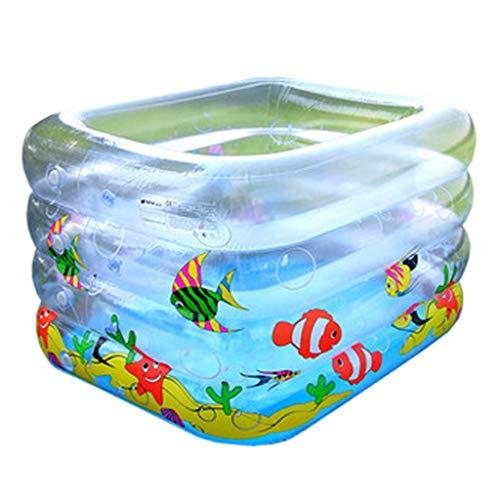 Bathtubs Bañeras inflables Bebes Bañera Inflable, Tina Transparente de la Piscina de la Bola del océano...