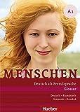 Menschen A1: Deutsch als Fremdsprache / Glossar Deutsch-Rumänisch – Glosar Germană –Romnă