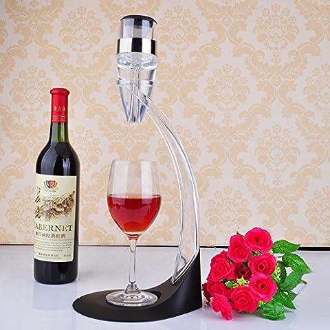 Acrilico Magic Decanter per vino set cristallo al piombo Vino Aeratore Home Bar Strumenti