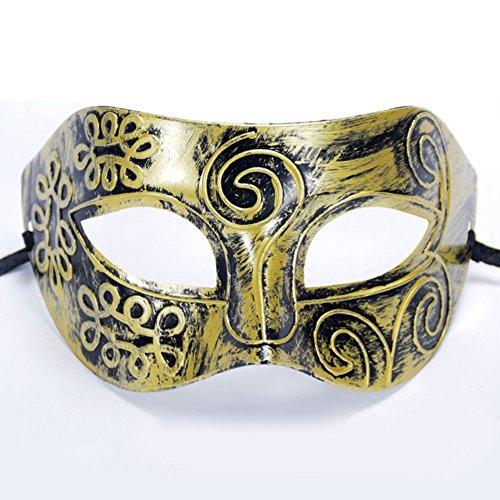 YUnnuopromi Halloween Day ! ! ! Gesichtsmaske im Vintage-Stil, Prinz-Maske, für Partys, Events, Kostüm, Requisite (Kostüme Halloween-paare Niedliche)