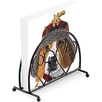 Beagle cappello scoiattolo 20 x tovaglioli di carta a 3 veli   nero  verticale cuore portatovaglioli e8f178e1f1df