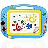 TTMOW Zaubertafel Kinder Maltafel für Kinder ab 2 ab 3 mit Magnetische Stempel Lerntafel Reißbrett Kindergeschenk