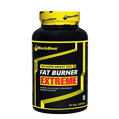 MuscleBlaze Fat Burner Extreme, 90 Veggie Capsules  available at amazon for Rs.1105
