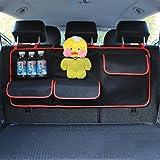 HCMAX Voiture Backseat Tronc Organisateur Jouet Pour Enfants Sac de Rangement long Accessoires de Cargaison d'intérieur Automatique Pour SUV Vans Cars Trucks