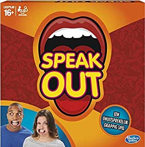 Hasbro Speak out Adultos Party Board Game - Juego de Tablero (Party Board Game, Adultos, Niño/niña, 16 año(s), Caja)