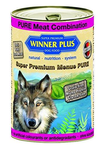 Winner Plus Mangime umido cane Puro mix di carni 400gr