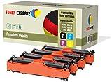 4er Set TONER EXPERTE® Premium Toner kompatibel zu HP 305X/305A CE410X CE411A CE412A CE413A für HP Colour LaserJet Pro 300 M351A MFP M375NW Pro 400 M451DN M451DW M451NW M475DN M475DW