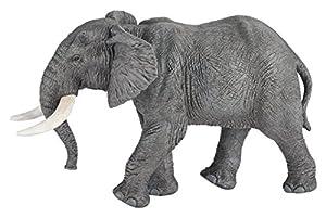 Papo- Figura Elefante Africano 16,1X8,9X9,8CM, (50192)