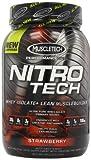 Best MuscleTech Weight Gain Supplements - Muscletech Nitro Tech Pro Series Strawberry 907g Review