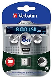 Verbatim Audio Store N Go 8GB Speicherstick USB 2.0