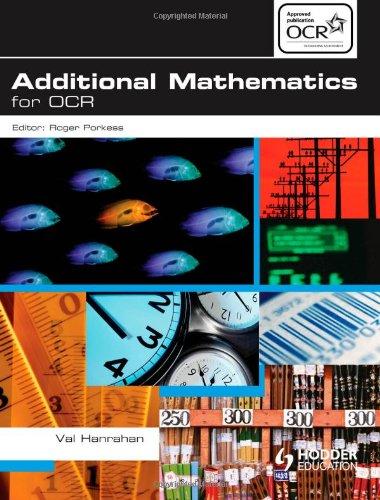 Additional Mathematics for OCR