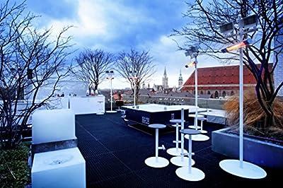 AEG Infrarot-Heizstrahler IR Premium 1650 W, hocheffiziente Qualitäts-Goldröhre, nicht-rostend für Terrasse, Garten, Balkon, Gastronomie, 229944