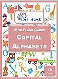 #8: Capital Alphabets Mini Flash Cards - Brainstock Flash Cards