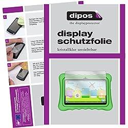 dipos I 2X Pellicola Protettiva Compatibile con Yuntab Q88 Kids Tablet Pellicola di Protezione Cristallo