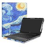 Alapmk Specialmente Progettato PU Custodia Protettiva in Pelle per 15.6' HP Notebook 15-bsXXX / 15-bwXXX (Come 15-bw056nl,ECC.) Notebook,Starry Night
