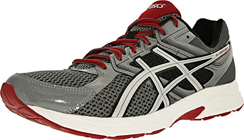 Asics Mens Gel-Contend 3 Titanium/Silver/Red Ankle-High Running Shoe - 8M