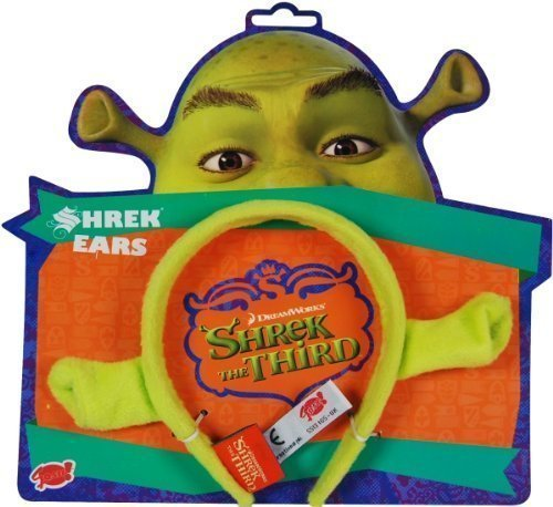 2 x Shrek Dressing Up Ears - One Size Fits All (Shrek Ohren)