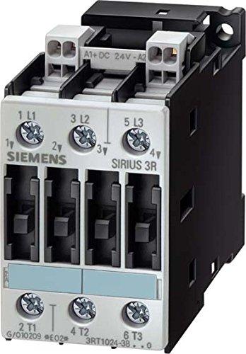SIEMENS SIRIUS - CONTACTOR AC-3 7 5KW CORRIENTE ALTERNA 24V 50HZ 3 POLOS CONEXION TORNILLO