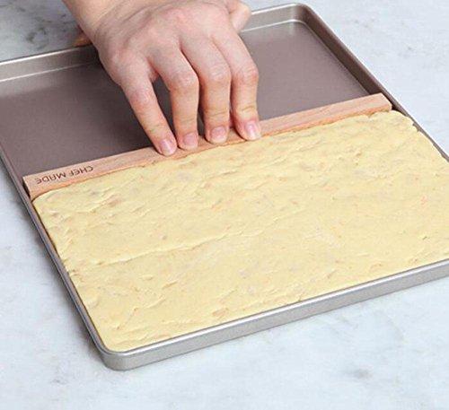 KUKI Inicio Antiadherente panadería turrón Copo de Nieve crujiente panadería Conjunto de...