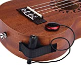 Tonsee Akustische Piezo Kontakt Mikrofon Pickup für Gitarre Violine Mandoline Ukulele