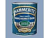 HAMMERITE - Esmalte Martele Gris Hammerite 750 Ml
